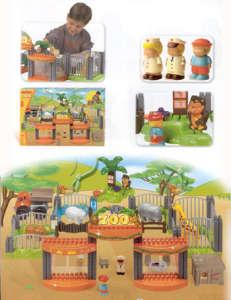 Állatkert építőjáték 30797936 Műanyag építőjáték