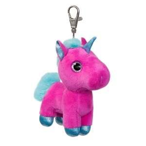 Sparkle Tales Starlight unikornis kulcstartó, pink 13 cm Aurora 30798090 Kulcstartó gyerekeknek