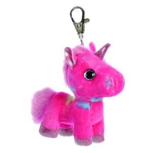 Sparkle Tales Rainbow unikornis kulcstartó, színes 13 cm Aurora 30798093 Kulcstartó gyerekeknek