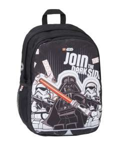 Lego Star Wars fekete-fehér hátizsák 30799402 Hátizsák, tornazsák, kistáska