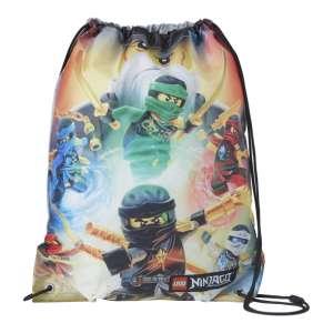 Lego Bags Tornazsák - Ninja #fekete 30799408 Tornazsák, sporttáska