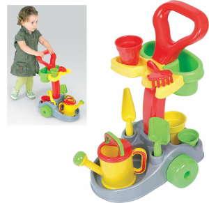 Guruló kertész játék szett 30799419 Kerti szerszám gyerekeknek