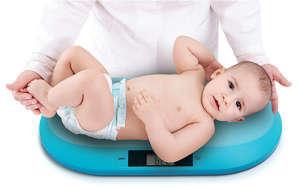 BabyOno digitális Csecsemőmérleg #kék 30799517 Babamérleg