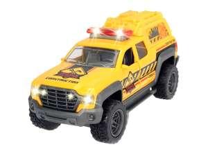 Pick Up Truck terepjáró Autó - 15cm #sárga-zöld 31043784