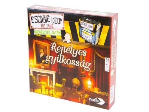 Noris Escape Room Rejtélyes gyilkosság szabaduló Társasjáték kiegészítő