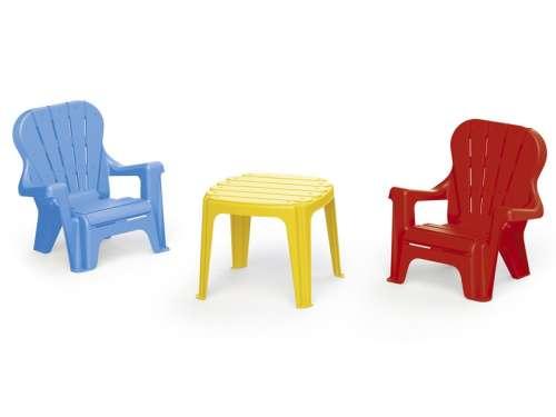 Asztal 2 székkel 31024078 Kerti bútor gyerekeknek
