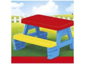Piknik asztal  4 személyes 31023722 Kerti bútor gyerekeknek
