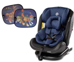 Caretero Mundo megfordítható Autósülés 0-36kg + Ajándék napellenzővel #kék 2019 30800631 Gyerekülés