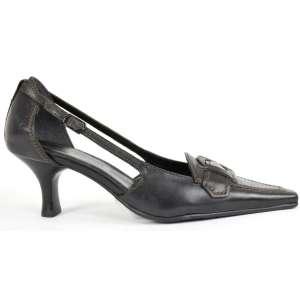Comma fekete,magas sarkú női cipő 31207716 Női alkalmi cipő