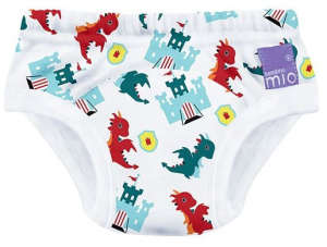 BambinoMio leszoktató nadrág 11-13 kg (18-24 hó) - Dragon's Dungeon 30801547 Mosható pelenka
