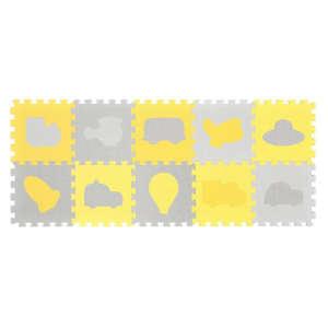 BabyOno Szivacs puzzle 10db - Járművek 30801579