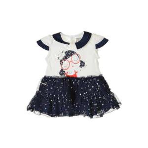 Boboli rövid ujjú Kislány ruha #fehér-kék 31204789 Kislány ruha