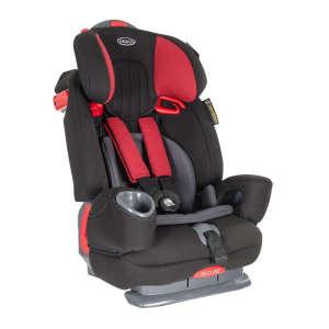 Graco Nautilus biztonsági Autósülés szűkítővel 9-36kg #fekete-piros 30806160 Gyerekülés