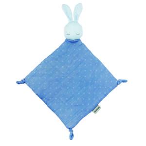 Nattou pamut Szundikendő - Nyuszi #kék 30806164 Szundikendő