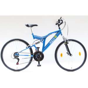 """Csepel Blackwood Fully férfi Kerékpár 26"""" #kék"""