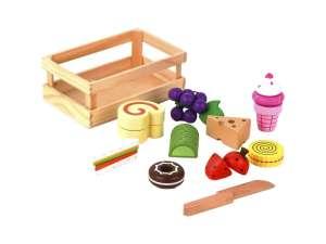 Fa vágható Élelmiszer készlet 31028843 Babakonyha / Játékkonyha