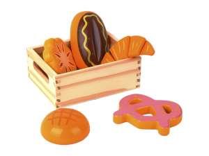 Fa vágható pékáru Élelmiszer készlet 31036776 Babakonyha / Játékkonyha