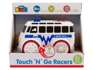 Rendőrségi Autó - 15cm #fehér-fekete 31040196 Autós játékok, autó, jármű