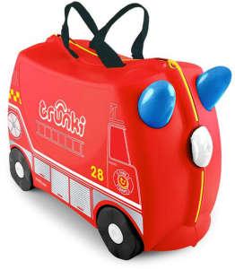 Trunki gyermek Bőrönd - Frank, a tűzoltó 30810601 Gyerek bőrönd