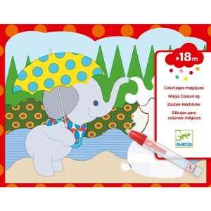 Vízzel színező készlet - Bújócska a szabadban  30810764 Színező, kifestő