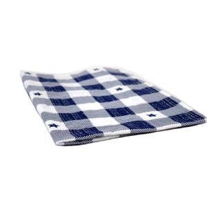 Párnahuzat - Kockás #kék-fehér 31220341 Ágyneműk