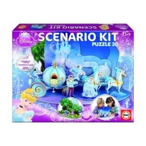 3D Puzzle - Hamupipőke  30810894 3D puzzle