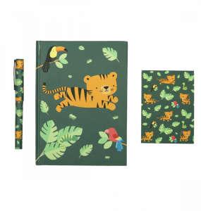 Back to school Írószer készlet - Tigris 30811092 Füzet, papír
