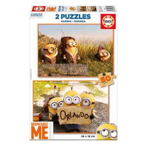 Educa gyerek Puzzle 2x50db - Minion 30824206 Puzzle gyereknek