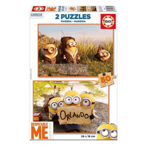 Educa gyerek Puzzle 2x50db - Minion 30824206