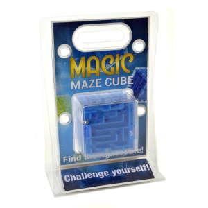 Magic Maze Cube labirintus játék #kék 31220396 Logikai játék