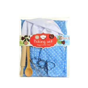 Toi-toys szakács Felszerelés kiegészítőkkel #kék 31220354 Babakonyha / Játékkonyha