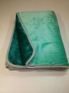 PUKKA (Fleece) Két rétegű Takaró Menta-Petrol 30826561 Pléd, takaró
