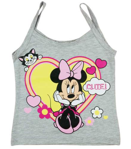 Disney spagettipántos Trikó - Minnie Mouse #szürke