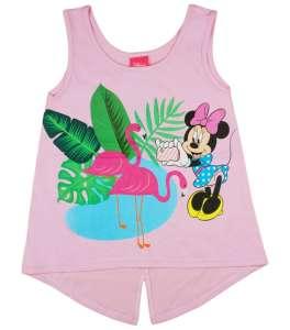 Disney Minnie flamingós, csillámos kislány nyári top 30826710 Gyerek trikó, atléta