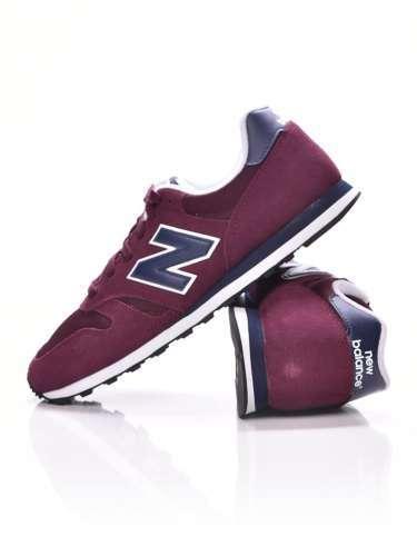bliżej na klasyczne buty wiele stylów New Balance 373 férfi Utcai cipő #bordó