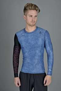 Reebok CF LS Compression férfi Aláöltöző #kék #fekete 30829197 Férfi aláöltöző