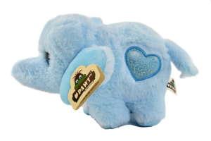 Paws szívecskés, csillogó szemű elefánt plüss – kék 30829711 Plüss