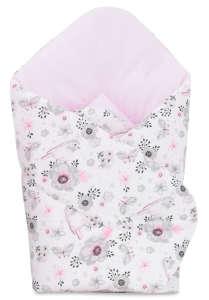 Pólyatakaró - Virág #rózsaszín 30830961 Pólya és huzat