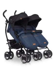 EasyGo Duo Comfort iker sport Babakocsi #kék 30831002 Iker babakocsi és testvér babakocsi