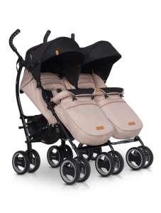 EasyGo Duo Comfort iker iker Babakocsi #bézs 30831012 Easy Go Babakocsi