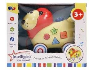 Zenélő Játék - Oroszlán #sárga 31040122 Fejlesztő játék babáknak