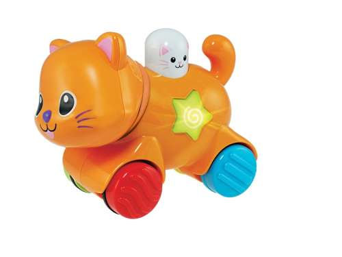 Zenélő Játék - Cica #narancssárga