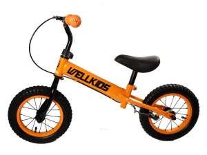 Fém Futóbicikli fékkel #narancssárga-fekete 31025367 Futóbicikli