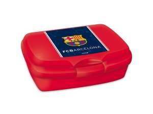 Uzsonnás doboz - FC Barcelona #piros 31037720 Étel-Ital tároló