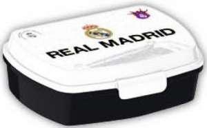 Uzsonnás doboz - Real Madrid #fehér-fekete 30831687 Étel-Ital tároló