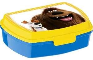 Uzsonnás doboz - Kis kedvencek titkos élete #sárga-kék 30831690 Étel-Ital tároló