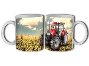 Porcelán Bögre - Traktor #piros 30831767 Bögre