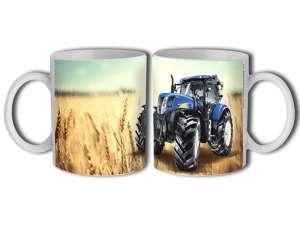 Porcelán Bögre - Traktor #kék 30831771 Bögre