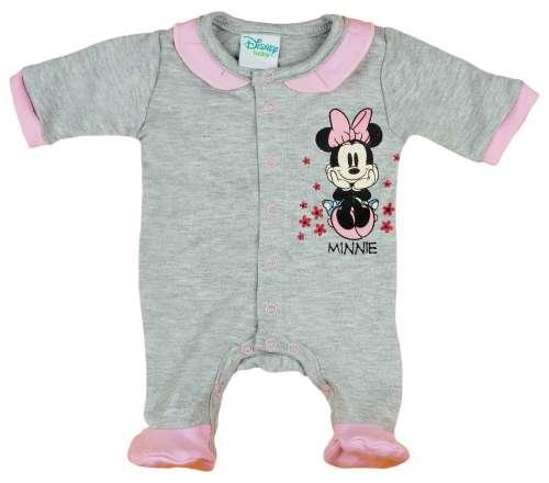 Disney hosszú ujjú Rugdalózó - Minnie Mouse #szürke