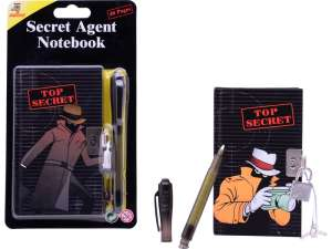 Titkos napló tollal #fekete 31029037